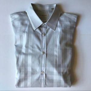 BURBERRY London Classic Plaid Button Down Shirt